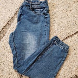 Vanilla Star Jeans - VANILLA STAR MID RISE SKINNY JEANS